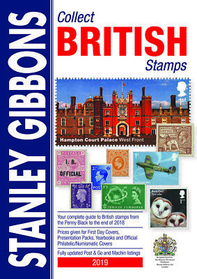 Stanley Gibbons Collect British Stamps NEW 2019 Edition A