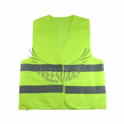 1pc Safety Security Visibility Reflective Vest For Night Work Traffic/Warehouse