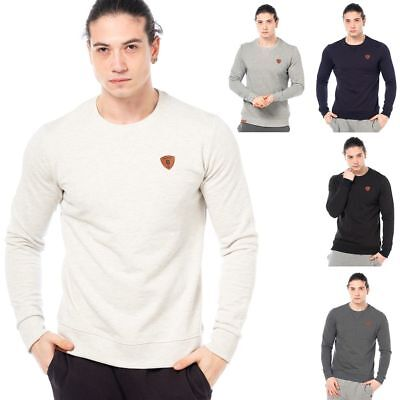 Sweatshirt Herren Pullover Sport Sweater S M L XL 2XL 100 Baumwolle Kenny Brown