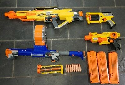 Nerf Gun Joblot Bundle + Lots of Bullets   ***COLLECTION ONLY***