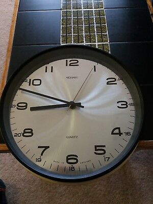 Metamec clock, metamec wall clock, 60s 70s metamec Retro Vintage Wall Clock