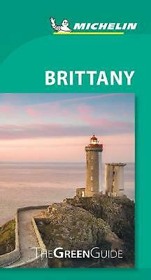 Brittany - Michelin Green Guide: The Green Guide Paperback Book Free Shipping!
