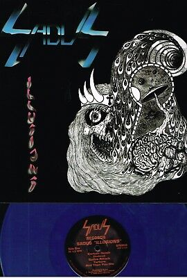 Sadus - Illusions (Dtp2112) Blue Vinyl 600 Only Reissue Death Metal Classic Lp