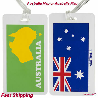 Luggage Tags Suitcase Labels Name Address ID Bag Baggage Tag Travel Holiday1/2pc