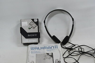 Sony WM-2 Walkman Stereo Cassette Player - Serviced - With Sony Headphones