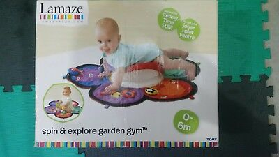 Lamaze Spin and Explore Garden Gym - Physical Skills Developing Toyl