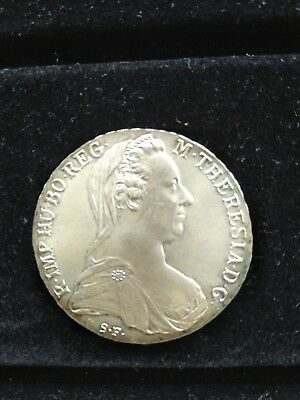 Maria Theresia Taler 1780 Österreich, Silber