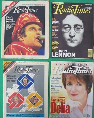 4 RADIO TIMES Mags. Midlands West June '84-Midland East June '87, Oct '90 & '98