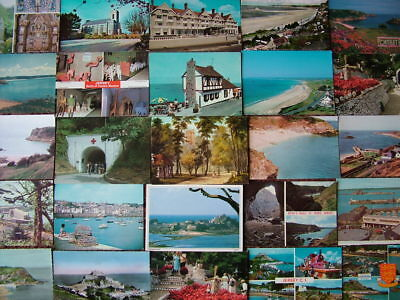 100 Unused Postcards of THE CHANNEL ISLANDS.  Good - Very good condition.