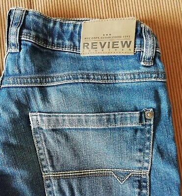 REVIEW und BLUE EFFECT Jeans SLIM Gr. 170 Jungs TOP