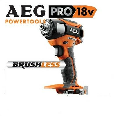 "GENUINE~AEG~18V~BRUSHLESS~3-SPEED~IMPACT DRIVER~1/4"" DRIVE~220Nm~unit only~£130~"