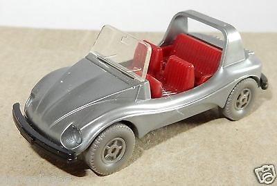 WIKING HO 1/87 VW VOLKSWAGEN KAFER BEETLE COX 1303 CABRIOLET COCCINELLE grey