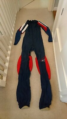 Skydiving FS jump suit (Symbiosis Suits), tailor made for 190cm slim build male.