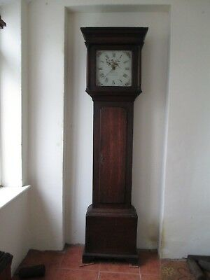 William Clarke of Long Buckby Northampton Superb Original Grandfather Clock