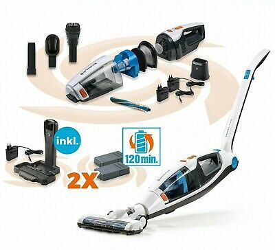 Genius Invictus M5 | 20 Teile | Akkustaubsauger inkl. Ladestation | 3in1 | NEU