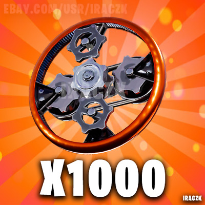 Fortnite Save The World STW | x1000 Efficient Mechanical Parts | PC XBOX PS4 !