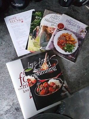 Slimming world food optimising book And Pack (USED)