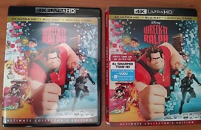 Wreck-It Ralph (4K UHD Blu-ray ONLY) Disney NO STANDARD BLU-RAY, NO DIGITAL CODE