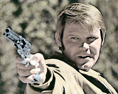 """GLEN CAMPBELL TRUE GRIT 1969 ACTOR SINGER 8x10"""" HAND COLOR TINTED PHOTOGRAPH"""