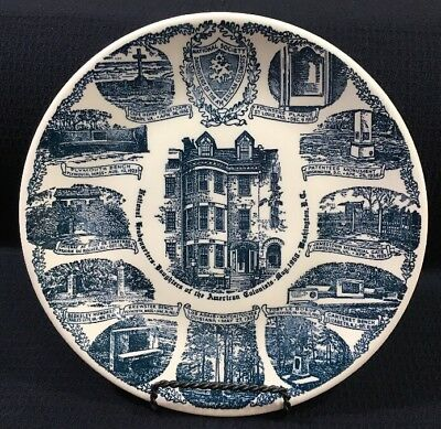 National Headquarters Daughters Of American Colonist 25 Year Anniversary Plate