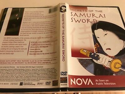 Secrets of the Viking & of the Samurai Sword - DVD's/ Nova