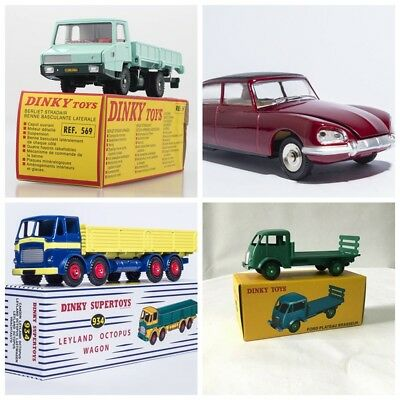 1/43 Dinky Toys Big Sale Limited Quqntity Die-cast  530 & 934 & 25H & 569 Gift