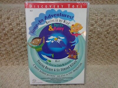Discovery Toys Tune-In Adventures CD audio book, Climb Mt. Everest, NEW & SEALED