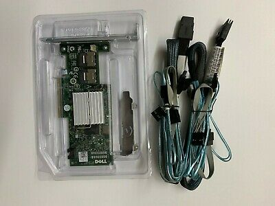 Dell PERC H200  6Gb PCI-e SAS SATA 8-Port Raid Controller + 8087 SATA Cable