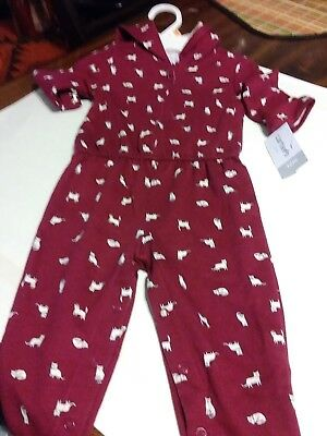 e5bd597be7 NWT CARTERS ONE Piece Infant Snaps Unisex Made With Love With Ribbon ...