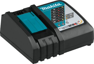 Makita DC18RC 18V LXT Lithium-Ion Rapid Optimum Charger NEW!