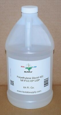 Tex Lab Supply Polyéthylène Glycol 400 (Crochet 400) Nf / FCC / Ep / Usp 64 Fl.