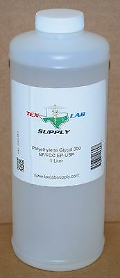 Tex Lab Supply Polyéthylène Glycol 300 (Crochet 300) Nf-Fcc/Ep-Usp 1 Litre