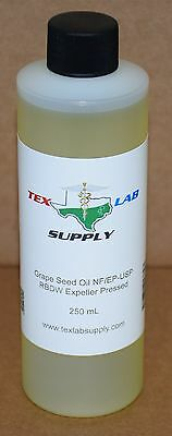 Tex Lab Supply Raisin Graines Huile Nf / Ep-Usp / Rbdw Evacué Pressé 250 Ml
