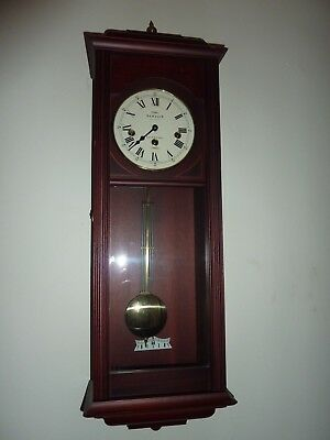 SEWILLS LIVERPOOL 3 Train Westminster Chime Wall Clock  SILENCE FACILITY