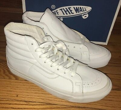 81762d527d Vans Vault Sk8-hi OG LX sz 8 white leather supreme wtaps blends syndicate  Taka