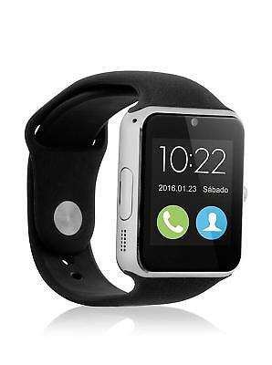Telefono Reloj Inteligente Bluetooth SmartWatch para Android TF SIM