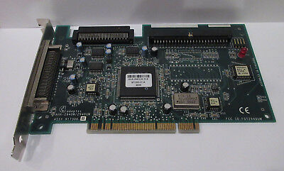 Adaptec AHA-2940W SCSI PCI Controller Card 571006-00 -TESTED -WORKING -PICS!
