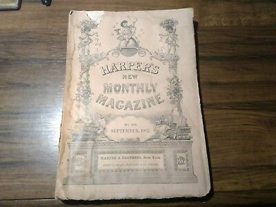 September 1892 HARPERS NEW MONTHLY MAGAZINE No.508