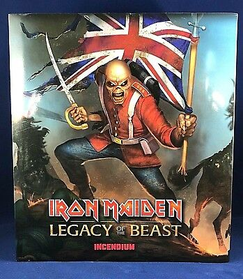 Iron Maiden Legacy of the Beast The Trooper Eddie Statue Figure Limited Edition