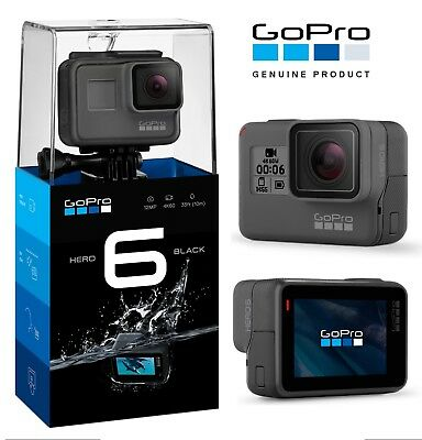 GoPro HERO 6 Action Camera - Black - Brand New!