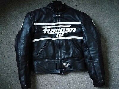 Furygan Highlander Lady Motorcycle Leather Jacket - Small / UK 8 - Black