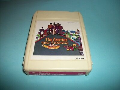 The Beatles  Yellow Submarine -  8 Track Tape  Capitol 8Xw 153 - Nice - Tested