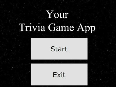 Android TRIVIA App Game Creation Service - 50 Questions w/ Score & Title Screens