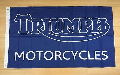Triumph Motorcycles 3x5 ft Flag Banner