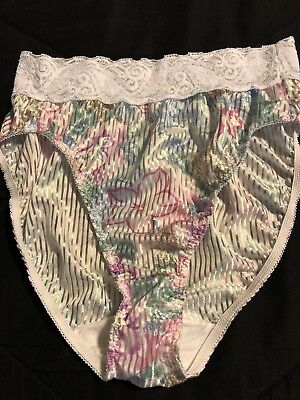 Vintage Lace Waist Hi Cut Panty Medium/6