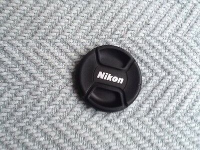 Nikon 52mm centre pinch lens cap