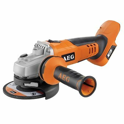 "GENUINE~AEG~18V~115mm~4.5""~CORDLESS~ANGLE GRINDER~unit only~RRP £109~NEW~"