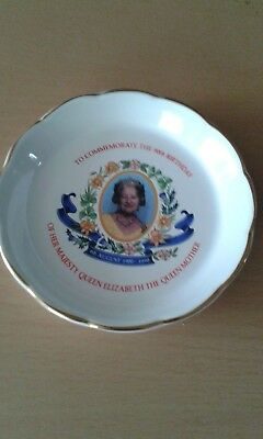 Wade Ringtons Dish To Commemorate 90Th Birthday Of The Queen Mother
