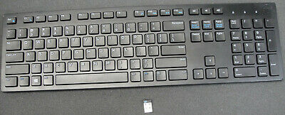 DELL WIRELESS KEYBOARD WK636P Keyboard USB RECEIVER Not