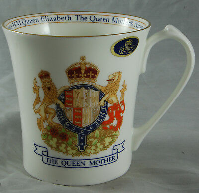 Queen Mother - 90th Birthday Mug - Aynsley